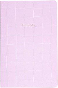 Caderneta Cicero Lilás sem Pauta 64 folhas 14X21cm