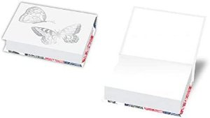 Caderneta Redoma Notes Butterfly sem Pauta