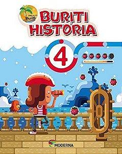 Buriti História 4ºano - Editora Moderna