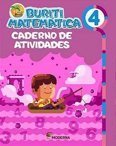 Buriti Matemática 4ºano Caderno de Atividades - Editora Mode