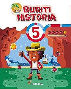 Buriti História 5ºano - Editora Moderna