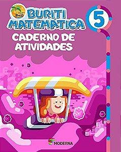 Buriti Matemática 5ºano Caderno de Atividades - Editora Mode