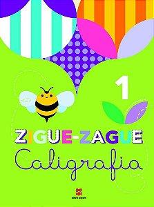 Caligrafia 1 Zigue Zague - Editora Scipione