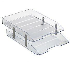 Caixa de Correspondência Acrimet Dupla Articulada Cristal