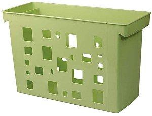 Caixa de Arquivo Dello Verde sem Pasta Suspensa