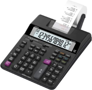 Calculadora Casio Bobina 12 Dígitos Hr-150Rc