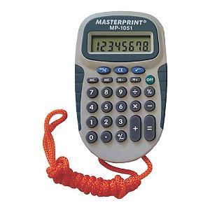 Calculadora Masterprint Mp1051 8 Dígitos