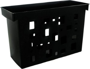 Caixa de Arquivo Dello Preto sem Pasta Suspensa