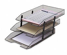 Caixa de Correspondência Acrimet Tripla Articulada Fumê