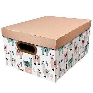 Caixa Organizadora Dello Lhama 380X290X185 mm 20,39L