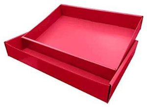 Caixa de Camisa Polibras Vermelho