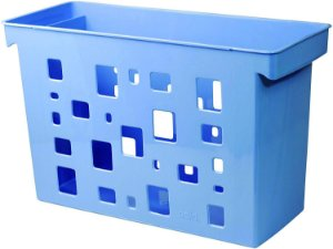 Caixa de Arquivo Dello Azul sem Pasta Suspensa