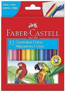 Hidrocor Faber Castell Color com 12 Unidades