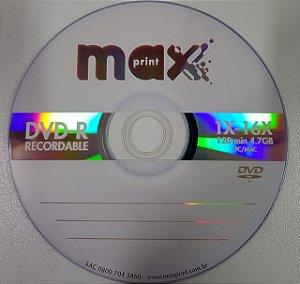 Dvd-R Gravável Maxprint 4.7Gb
