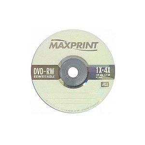 Dvd-Rw Regravável Maxprint 4.7Gb