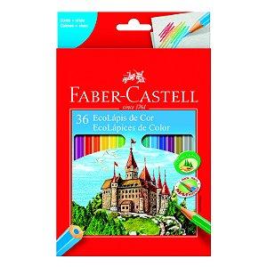 Lápis de Cor Faber Castell Eco Lápis com 36 Unidades