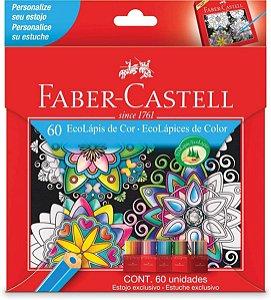 Lápis de Cor Faber-Castell Eco Lápis com 60 unidades