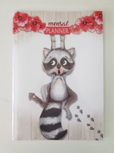 Planner Redoma Pet Guaxinim