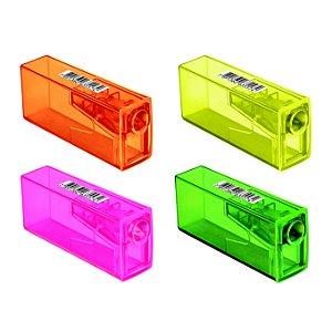 Apontador Faber Castell Neon com Depósito