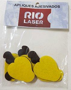 Aplique Adesivado Rio Laser Caju Amarelo