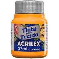 Tinta de Tecido Acrilex Amarelo Cadmio 37Ml