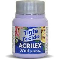 Tinta de Tecido Acrilex Lilás 37ML