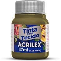 Tinta de Tecido Acrilex Caqui 37Ml