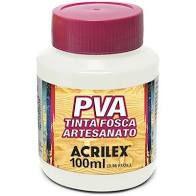 Tinta PVA Acrilex Fosca Branco 100ML