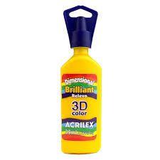 Dimensional Acrilex Amarelo Ouro 35Ml
