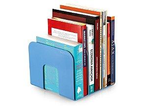 Organizador Livro Maxcril Standard Azul com 3 Divisórias