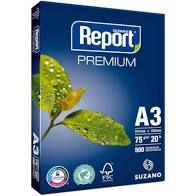 Papel Sulfite A3 Report Branco 75G 500 folhas