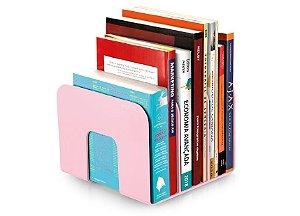 Organizador Livro Maxcril Standard Rosa com 3 Divisórias