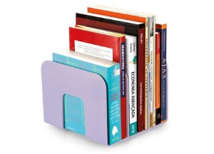 Organizador de Livro Maxcril Standard Lilás com 3 Divisórias