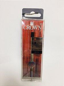 Carga de Caneta Crown Preta CA14007P