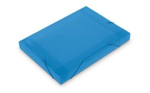 Pasta com Elástico Acp 20mm Mini Azul