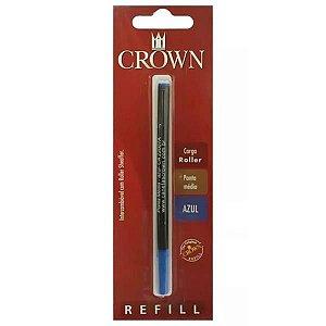 Carga de Caneta Crown Roller Azul Ca22007A