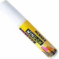 Marcador Acrilex Window Marker Branco
