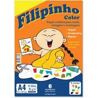 Papel A4 85G Filipinho Color 45 folhas