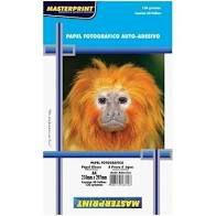 Glossy A4 130G Masterprint Adesivo com 50 folhas