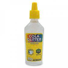 Cola com Glitter Acrilex Cristal 35G