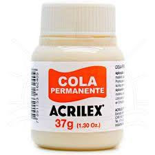 Cola Permanente Acrilex 37G