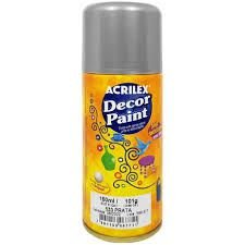 Decor Paint Acrilex Prata 533 150Ml
