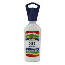 Dimensional Glitter Acrilex Cristal 35Ml
