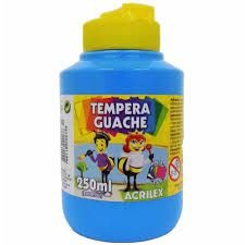 Guache 250ML Acrilex Azul Celeste