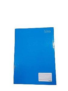 Caderno Foroni 1X1 Class Azul Brochura 96 folhas