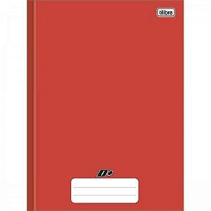 Caderno Tilibra 1X1 D+ Vermelho Brochura 96 folhas
