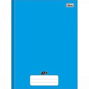 Caderno Tilibra 1X1 Mais Azul Brochura 48 folhas