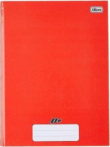 Caderno Tilibra 1/4 Mais Vermelho Brochura 96 folhas