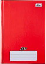 Caderno Tilibra 1/4 Mais Vermelho Brochura 48 folhas