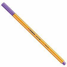 Caneta Stabilo 0.4 Point 88/55 Violeta